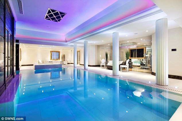 Built in 1910, the property comes with an indoor swimming pool, pictured