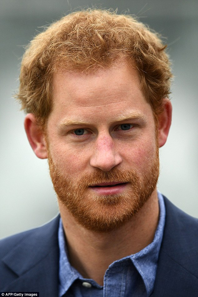 Harry is said to be 'besotted' with the actress and has introduced her to William and Kate