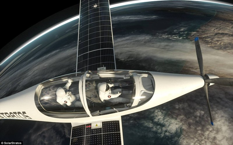 SolarStratos has revealed its plans for a five hour mission to space and back, during which the plane and pilot will be subjected to frigid temperatures and extremely low pressures