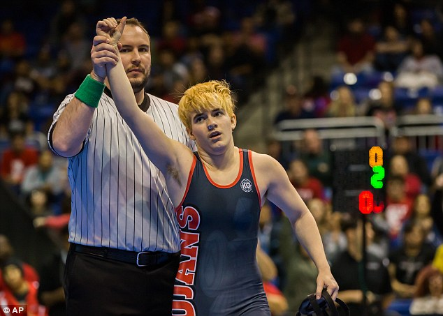 Mack Beggs won a Texas girls wrestling title on Saturday amid criticism from those who believe the testosterone he's taking to transition from female to male created an  advantage