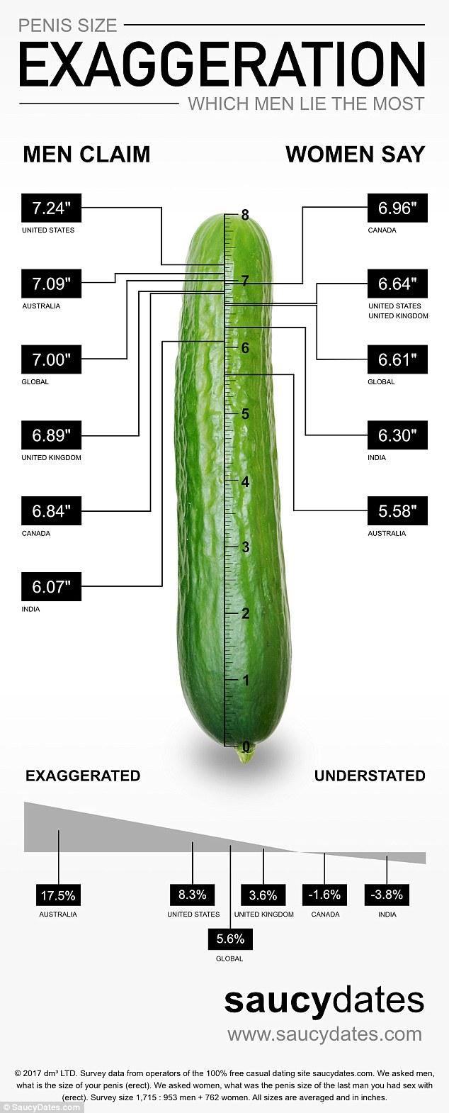 average penis sizes limp
