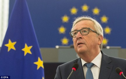 EU commission president Jean-Claude Juncker said the 'example' of Britain would ensure other countries did not leave the bloc