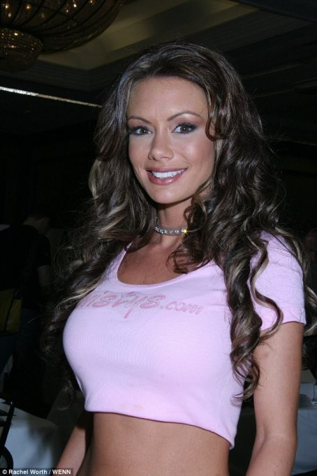 Crissy, pictured here in 2006, says she never 'felt good enough' for her boyfriends because they often wanted to incorporate pornography in their sex lives. In her early twenties, she decided tohave breast augmentation surgery so she could resemble the women her boyfriends lusted after. She said:'I felt worthless to the point that I chose porn and I said, one day I'm going to be one of the girls you watch on screen'
