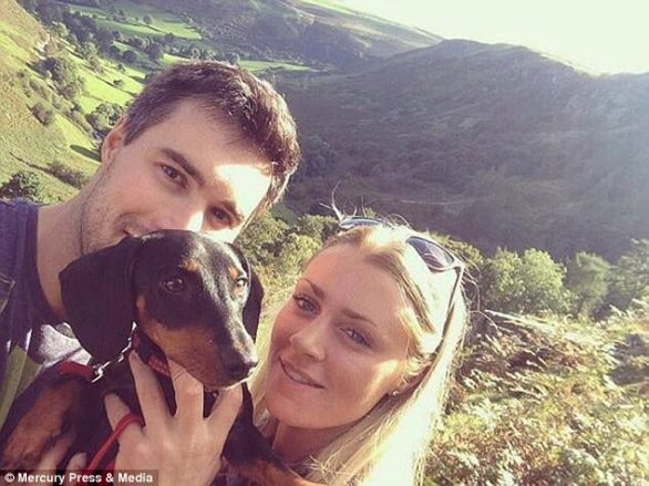 The couple were looking forward to their luxurious break that cost them £2,207 as they both have stressful lives working in agriculture and rarely get time off