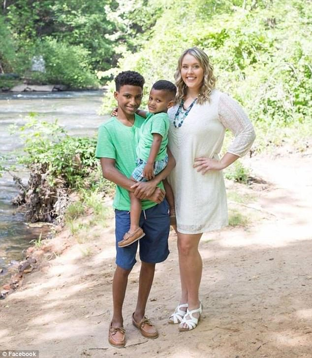 Haley was granted full-time custody of Jerome and Jace - who are thriving more than ever before today