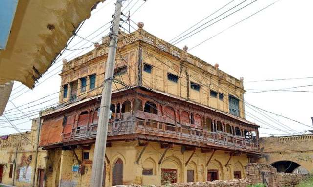 One of the Maari (grand house) built by a Sikh family before partition. — Photos by the writer