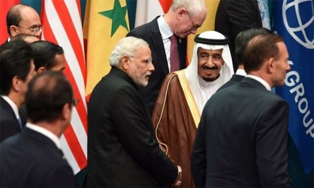 Indian PM says he will visit the Kingdom next month to 'expand and deepen bilateral relations' with Saudi Arabia.─AFP/File