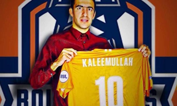 Kaleemullah, who hails from Chaman, signed up with Tulsa Roughnecks in December last year. — Taimoor Khan/File