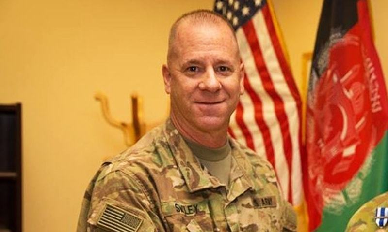 US Army Brigadier General Jeffrey Smiley suffers at least one gunshot wound in the Thursday's attack.— Courtesy: Commonwealth of Australia, Department of Defence