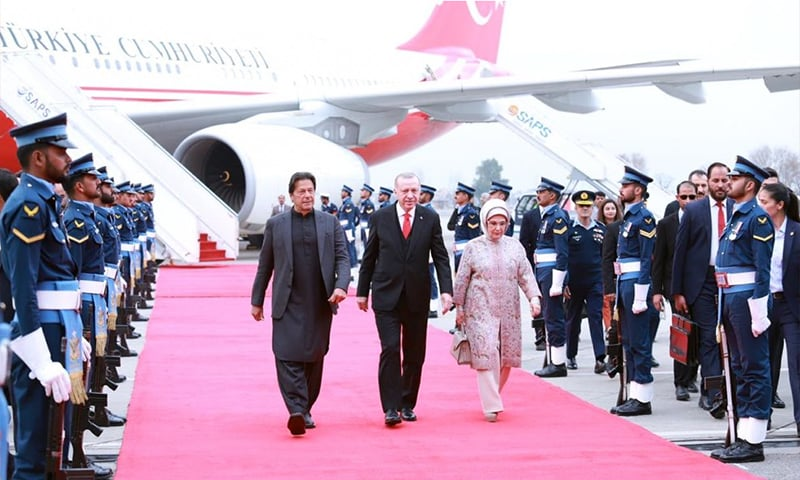 Turkish President Erdogan meets PM Imran, President Alvi upon ...