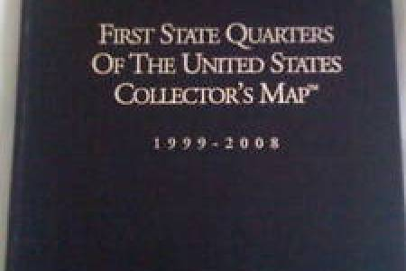 first state quarters collectors map | ebay