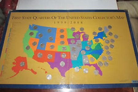 1999 2008 first state quarters of the united states