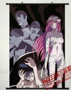 Elfen Lied Lucy Home Decor Japanese Poster Wall Scroll Anime Cosplay     Image is loading Elfen Lied Lucy Home Decor Japanese Poster Wall