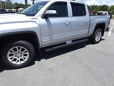 Assist Steps Black 2014 2017 GMC Sierra Chevrolet Silverado Crew CAB     2014 2019 Chevrolet Silverado GMC Sierra GM OEM 6  Rectangular Assist Steps  NEW