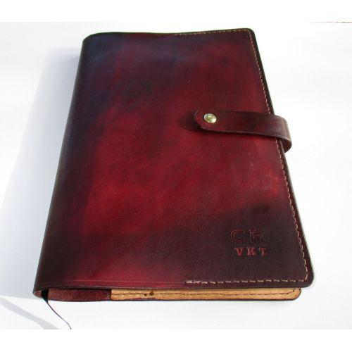 Medium Crop Of Personalized Leather Journal