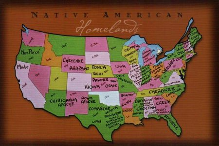 native american homelands in the united states, indian