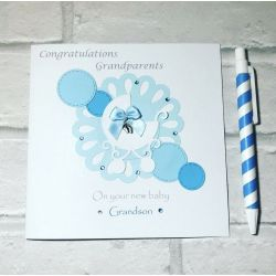 Howling Your Baby Son Congratulations New Baby S Congratulations New Baby Ma Congratulations Parents On Birth Your Baby Son Handmadecard Ebay Congratulations Parents On Birth baby shower Congratulations New Baby