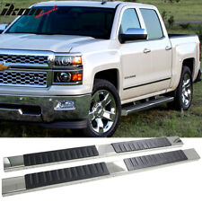 Nerf Bars   Running Boards for GMC Sierra 1500 for sale   eBay Fits 07 18 Silverado Sierra 1500 Crew Cab 5inch Side Step Bar Running Boards  SS