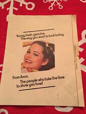avon brochure in Collectables   eBay 1977 Avon Cosmetics Advertising Brochure Pamphlet