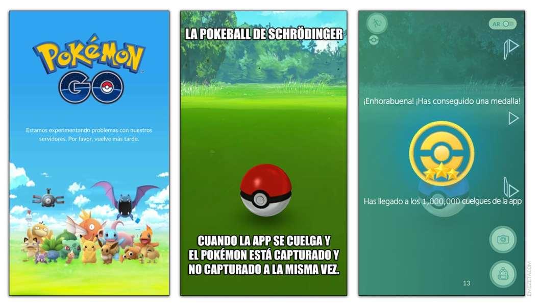 Problemas y cuelgues de la aplicación de Pokémon