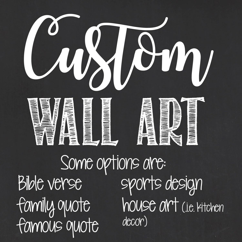 Fullsize Of Personalized Wall Art