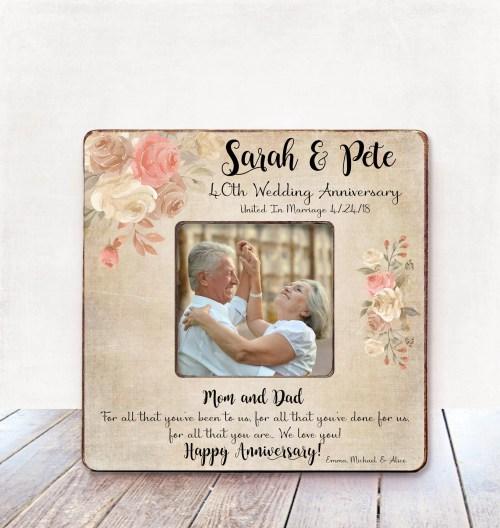 Medium Of 40th Wedding Anniversary Gift