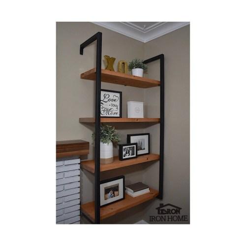 Medium Of Wrap Around Wall Shelves