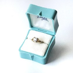 Distinguished Ring Box Wedding Engagement Vintage Aqua Blue Ringbox Jewelry Presentation Ring Box Wedding Engagement Vintage Aqua Blue Ringbox Jewelry Engagement Ring Box Target Engagement Ring Box Le