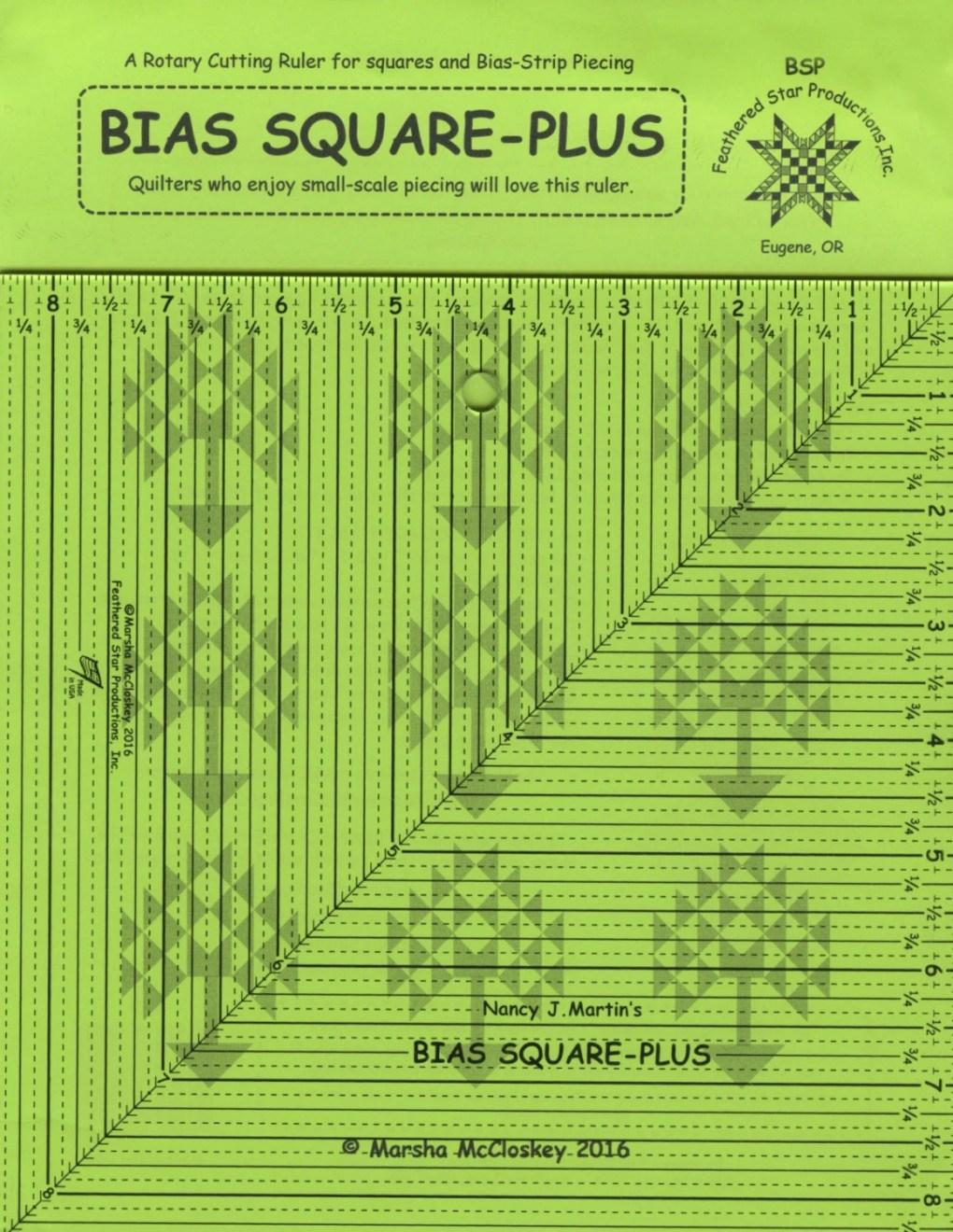 Bias Square-Plus Ruler