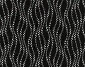 Vanessa Vargas Wilson Fabric Collection - Kinfolk - Wavy Stripe Black