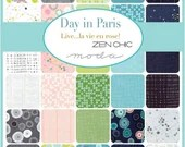 Day in Paris Layer Cake by Zen Chic
