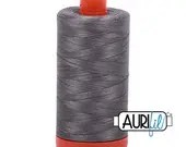 Aurifil Cotton Thread - 50 wt - Grey Smoke
