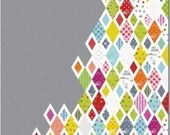 Diamonds & Grey Quilt Pattern by Zen Chic