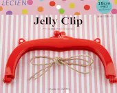 Jelly Clip - Red - 7""