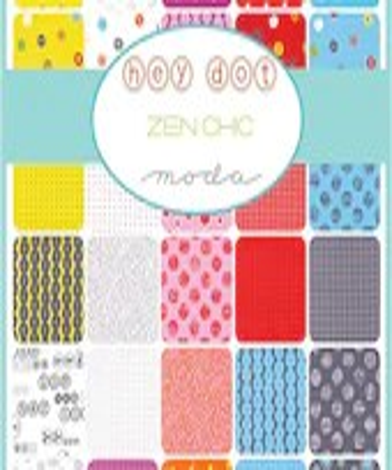 Hey Dot Fat Eighth Bundle by Zen Chic