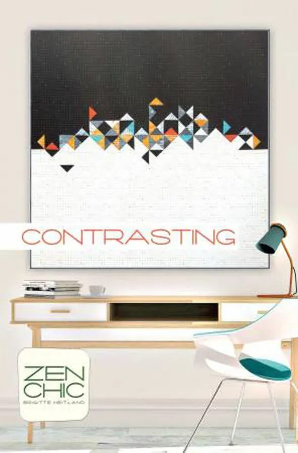 Contrasting Quilt Pattern by Zen Chic