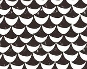 Lotta Jansdotter Fabric - Hemma - Orancy in Gray