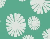 Lotta Jansdotter Fabric - Follie - Mickel Good Luck Green