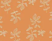 Lotta Jansdotter Fabric - Lucky - Emes in Tangerine