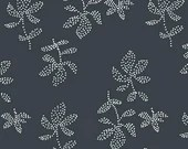 Lotta Jansdotter Fabric - Lucky - Emes in Midnight Navy