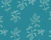 Lotta Jansdotter Fabric - Lucky - Emes in Caribbean Blue