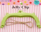 Jelly Clip - Green - 7""