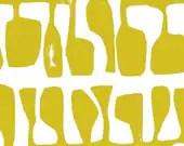 Lotta Jansdotter Fabric - Follie - Follie Buttercup Yellow
