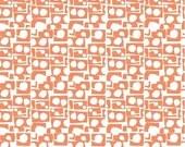 Lotta Jansdotter Fabric - Lilla - Prata in Coral