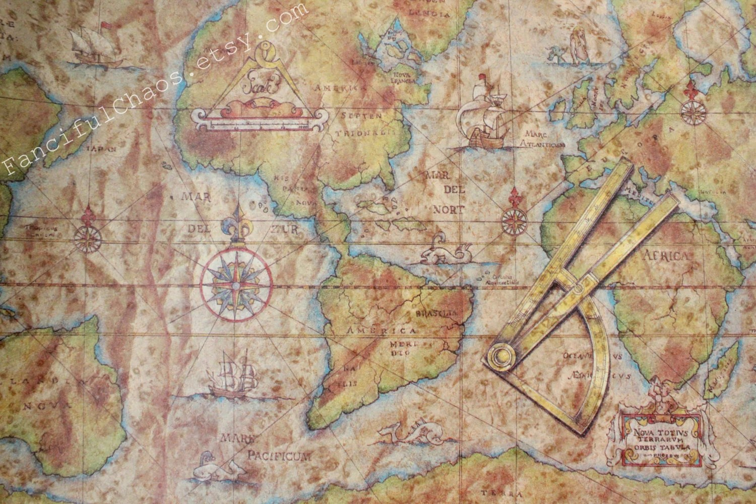 Map wrapping paper   Etsy Old World Map Wrapping Paper 2 5X10 ft   Masculine Gifts  Travel   Scrapbooking  Crafts  Cards  Father s Day  Christmas  Gift Wrap Paper