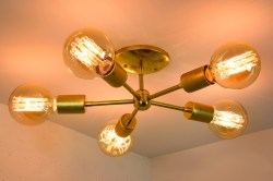 Small Of Mid Century Modern Chandelier