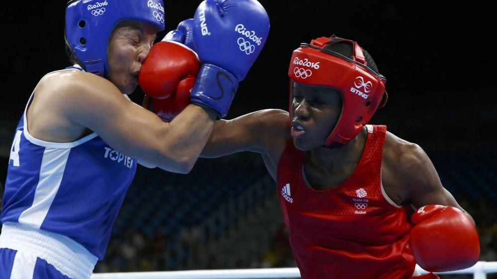 Nicola Adams's aggressive counter-punching style was too much for her opponent