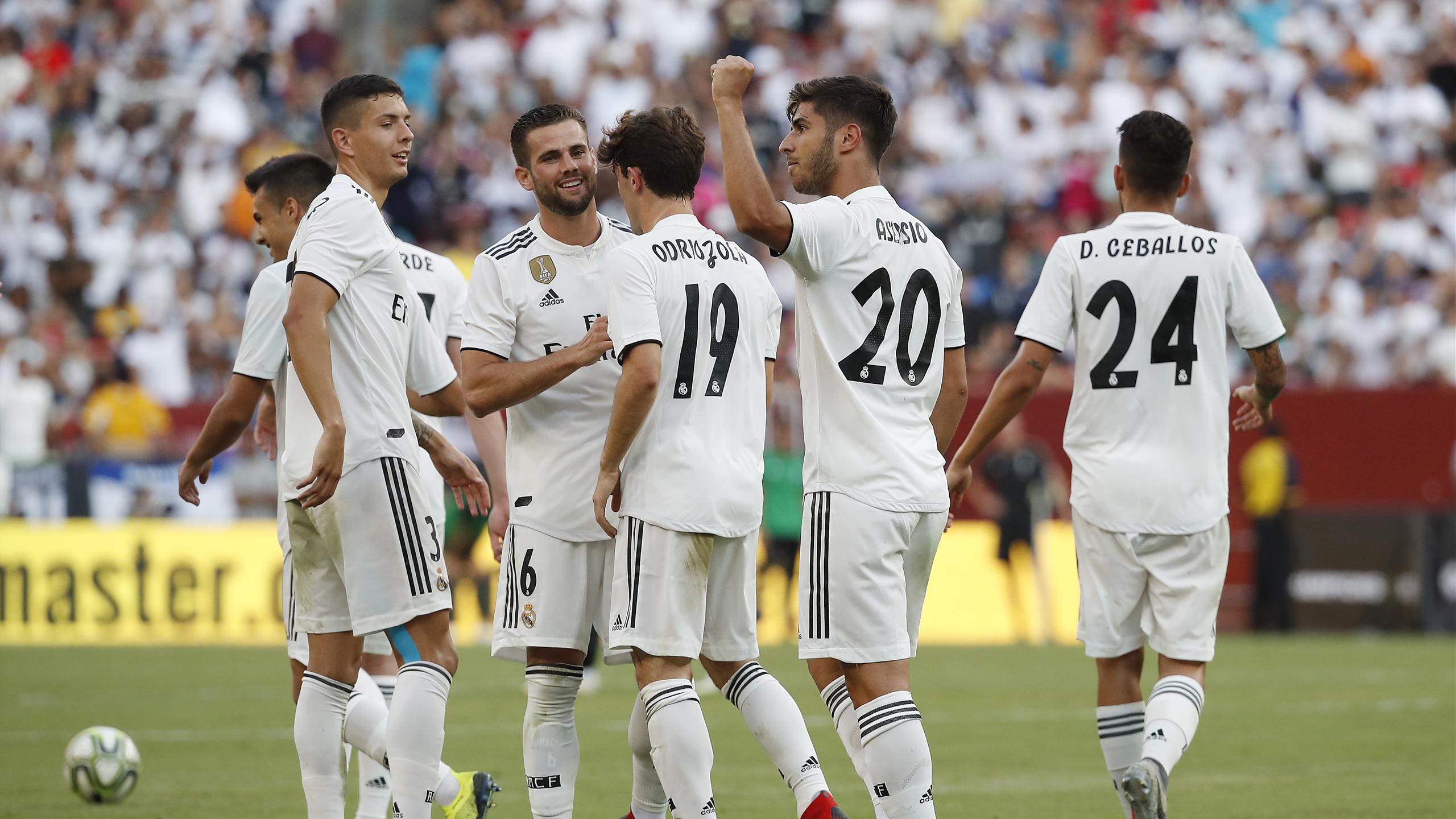 Asensio at the double as Real Madrid crush Juventus   International     Asensio at the double as Real Madrid crush Juventus   International  Champions Cup 2018   Football   Eurosport