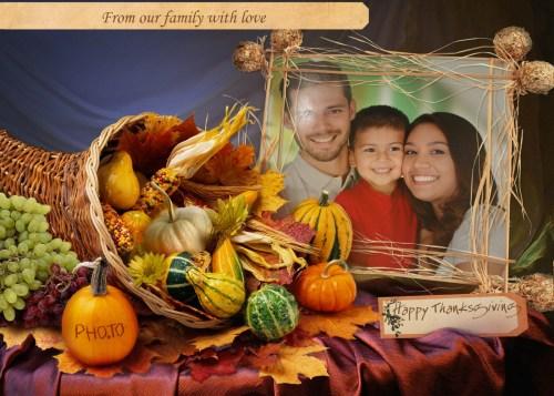 Medium Of Happy Thanksgiving Family