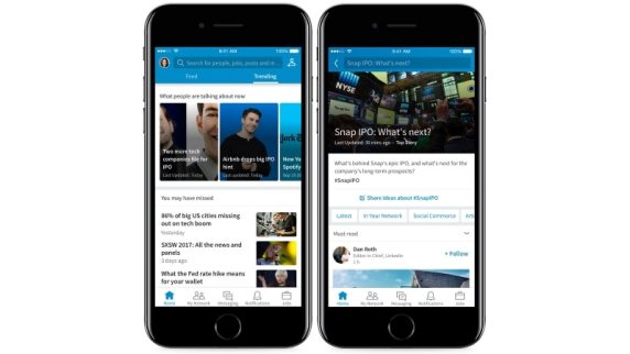 LinkedIn's New Trending Storylines Feature Aims to Hook More Users With News